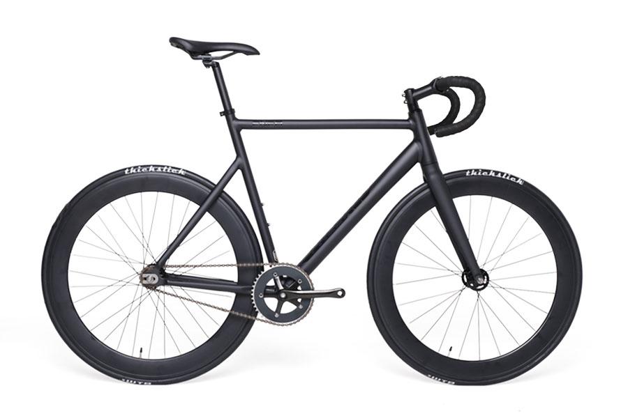 Bike Fixie Freexed ENEA Matte Black Rims 60 mm